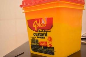 custard crepe