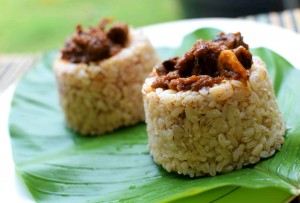 Coconut Ofada Rice